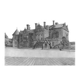 Beaulieu Palace House B - A4 Print