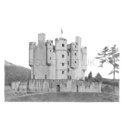 Braemar Castle, Scotland