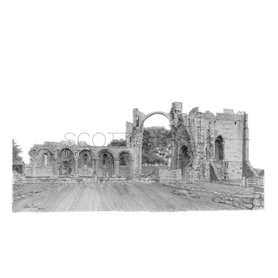 Lindisfarne Abbey Ruins, Northumberland