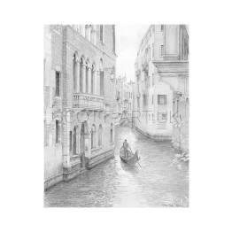 Venice, Rio dei Barcaroli & Gondola