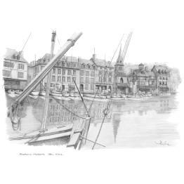 Honfleur, Vieux Bassin (South Side)