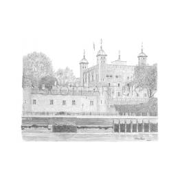 Tower of London A4 Print