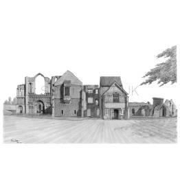 Castle Acre, Norfolk A4 Print